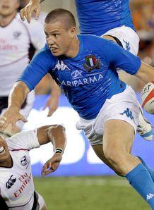 Luca Morisi Roland Suniula USA Italy