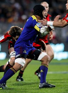 Nasi Manu Highlanders v Crusaders 2012