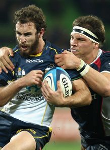 Nic White Brumbies v Rebels 2012