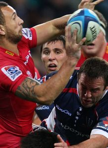 Quade Cooper Reds v Rebels 2012