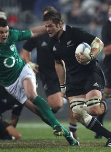 Richie McCaw New Zealand and Ireland 2012