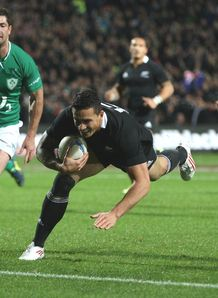 Sonny Bill Williams try 2 v Ireland 2012