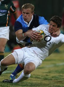South Africa Barbarians North v England Anthony Allen Joubert Englebrecht