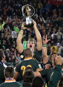 South Africa players celebrate IRB Junior World Championships final