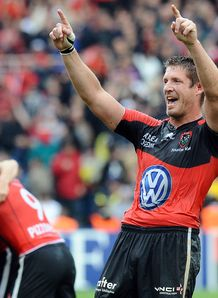 Toulon lock Bakkies Botha Celebrates 2012