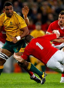 Wycliff Palu Aus v Wales 2012