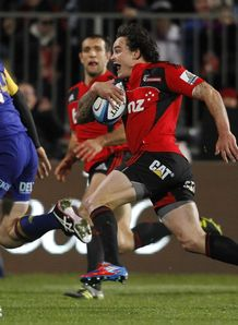 Zac Guildford Crusaders v Highlanders