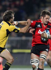 conrad smith richie mccaw crusaders v hurricanes