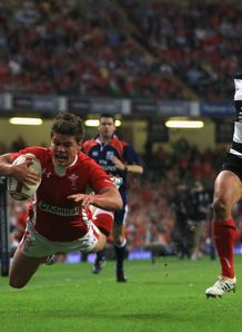 Harry Robinson Wales v Barbarians Millennium Stadium Cardiff