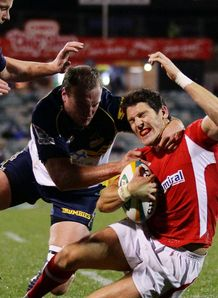 james hook. wales v brumbies