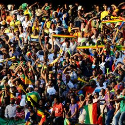 Ethiopian fans: Hoping for special AFCON