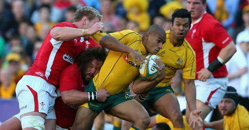 Will Genia Australia v Wales 2012