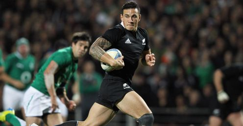 Sonny Bill Williams All Blacks v Ireland 2012