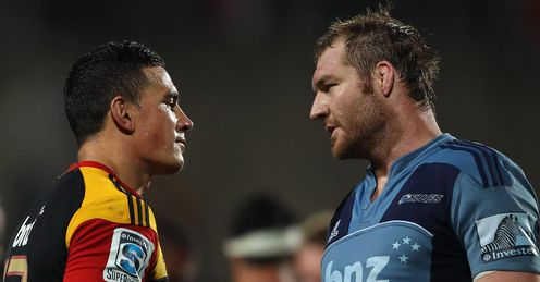 Ali Williams and Sonny Bill Williams Blues v Chiefs 2012
