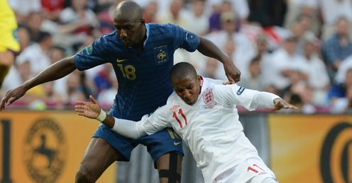 Young: easily contained by Diarra, says Merson
