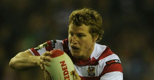 Brett Finch wigan warriors