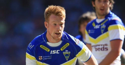 Chris Riley Warrington Wolves
