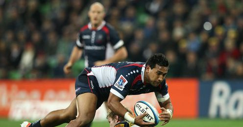 Cooper Vuna Rebels v Brumbies