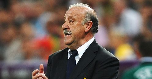 Euro 2012 Spain France Vicente Del Bosque
