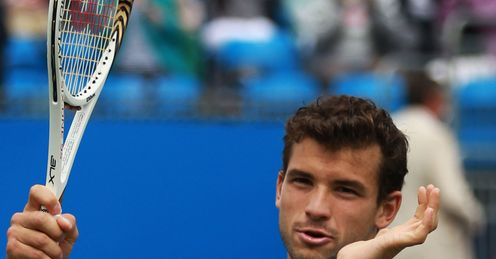 Grigor Dimitrov: one of the emerging players who must prove their mettle against the best