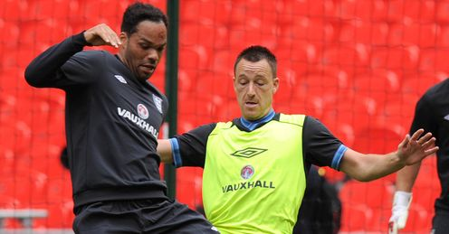 Lescott & Terry: Merson has no worries at the back