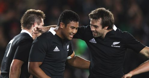 Julian Savea New Zealand v Ireland