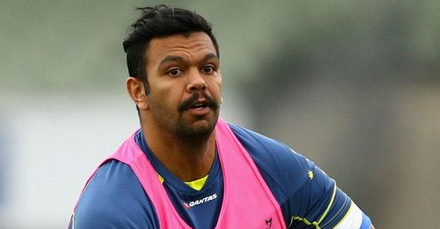 Kurtley Beale Wallabies training 2012
