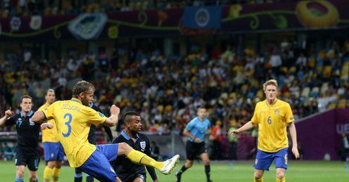 Olof Mellberg: Sweden v England