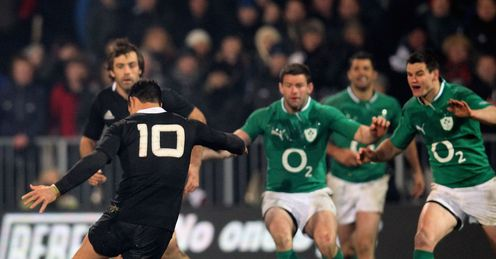 New Zealand v Ireland Dan Carter