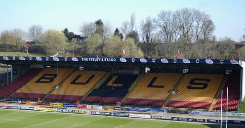 Odsal: home of the financially-stricken Bradford Bulls