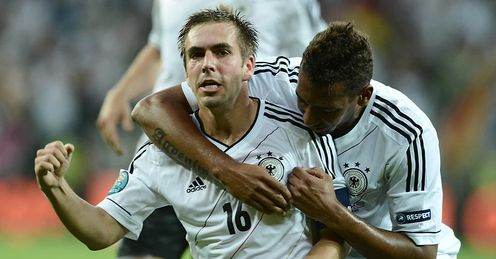 Philipp Lahm Germany Greece Euro 2012 Quarter Final