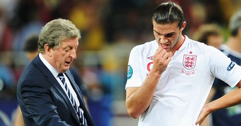 Hodgson & Carroll: criticised by Merson in the wake of England's exit