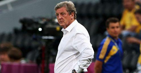 Roy Hodgson England Ukraine Euro 2012