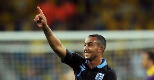 Theo Walcott England v Sweden