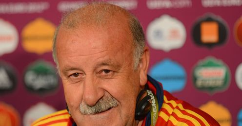 Del Bosque: annoyed reaction