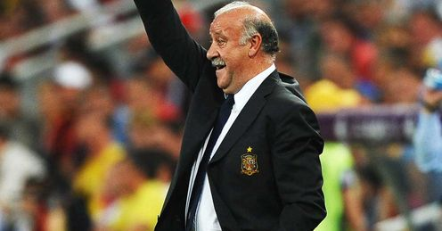 Vicente del Bosque got his tactics right