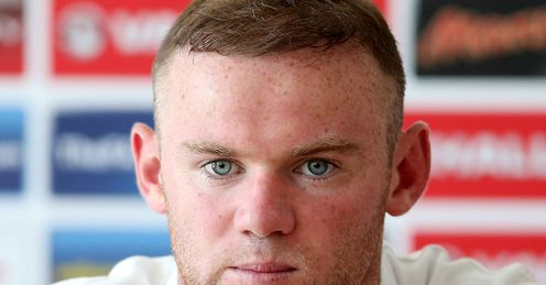 Wayne Rooney England Press Conference Euro 2012