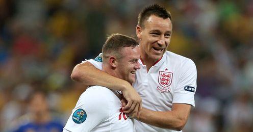 Wayne Rooney John Terry