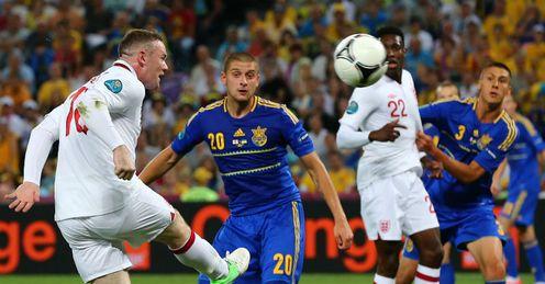 Wayne Rooney miss England v Ukraine