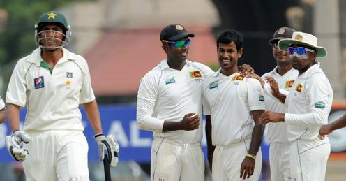 Younis Khan dismissed by Nuwan Kulasekara Sri Lanka Pakistan Galle