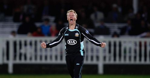 Gareth Batty Surrey v Middlesex Friends Life t20 Lords