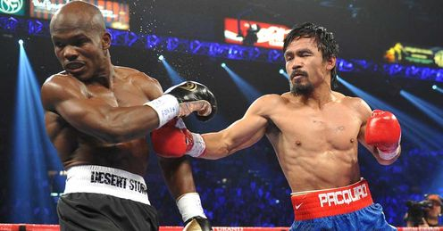 Shock: Pacquiao dominated the fight on Wayne's scorecard