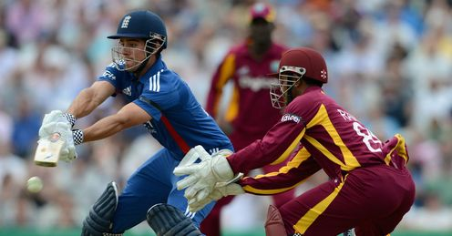 Alastair Cook England batting against the West Indies The Kia Oval