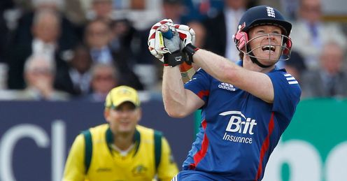 eoin morgan england first odi australia lords