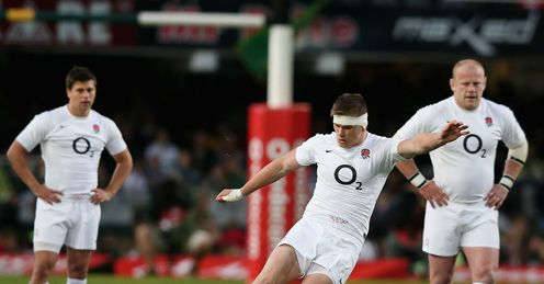 Owen Farrell South Africa England