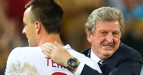 Terry: has turned his back on Hodgson's England