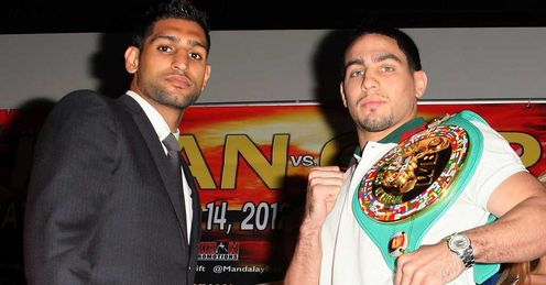 Khan and Garcia: title on the line