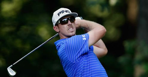 Tied for the lead: Hunter Mahan