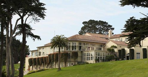 The storied Olympic Club headquarters
