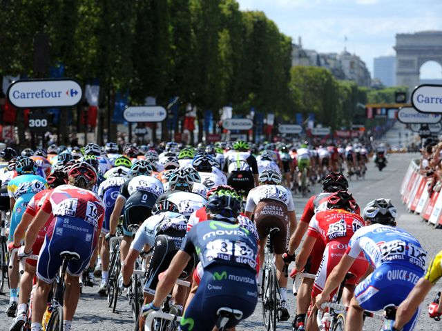 The Tour de France is always a great spectacle